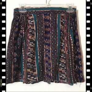 Altered vintage mini skirt XS handmade 80s 90s